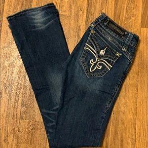 Rock Revival Gwen bootcut stretch fit jeans W28